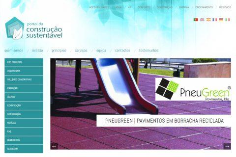 {:pt}PneuGreen estabelece parceria com Portal da Construção Sustentável{:}{:en}PneuGreen establishes partnership with Portal Of Sustainable Construction{:}